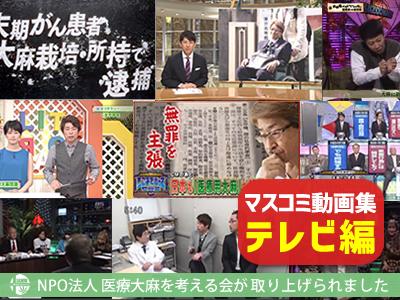 マスコミ動画集 テレビ編