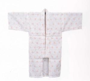 産着 うぶぎ:赤ちゃんに生まれて初めて着せる服 麻柄模様