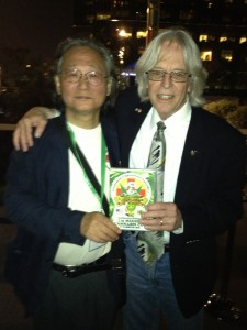 「NORML 創立者 R. Keith Stroup, J.D.との記念撮影